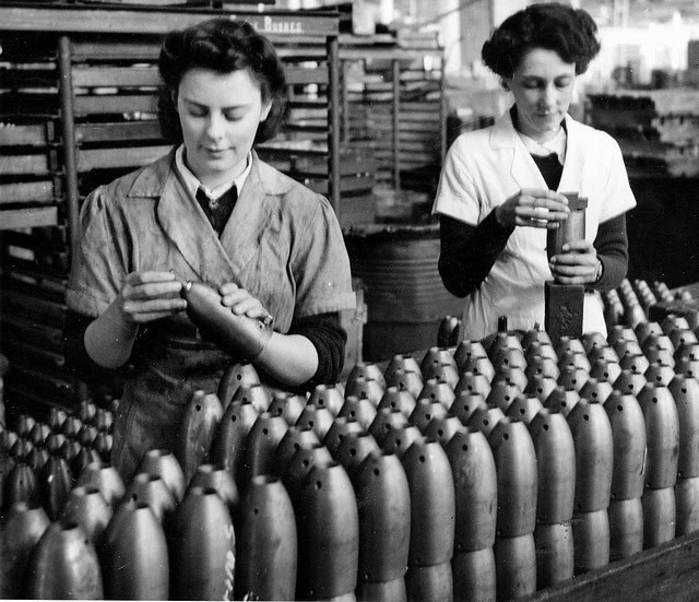 South Australian Women Working in Munitions Factory during World War II (19)