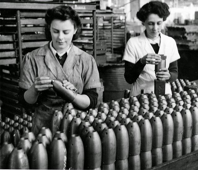 South Australian Women Working in Munitions Factory during World War II (19)