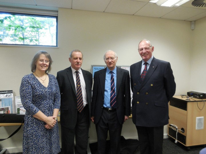The PCC for South Yorkshire visiting Rotherham MCVC.