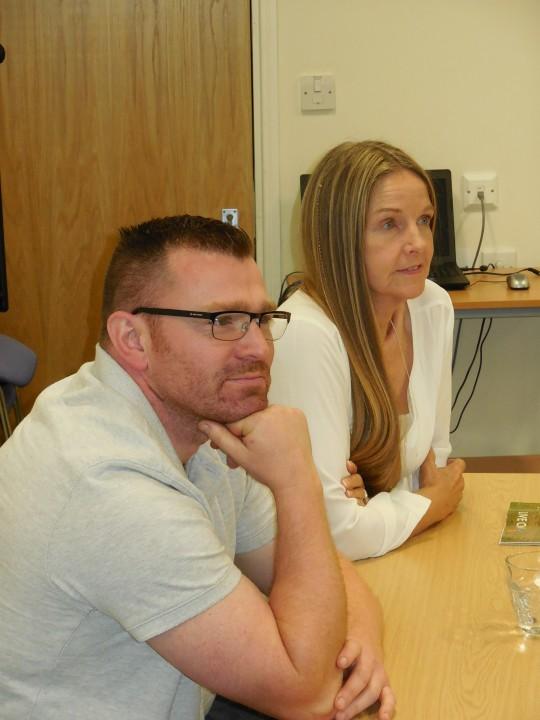 Rotherham MCVC members at the PCC meeting.