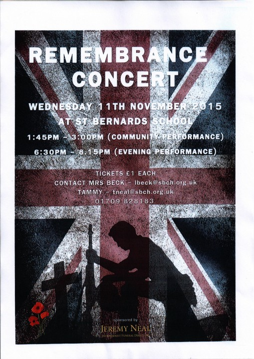 Air Cadets Remembrance Poster