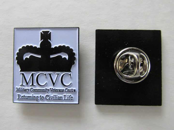 MCVC Lapel Pin Badges