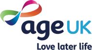 The Age UK logo.